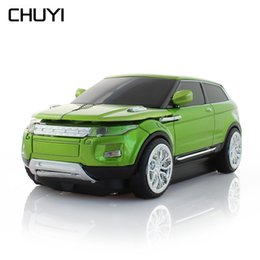 3d Usb Mouse Australia - CHUYI Wireless 3D Car Mouse 1600DPI Optical SUV Sport Car Shape Mause USB Computer Office Mice For PC Laptop Notebook