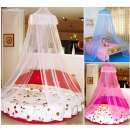 Wholesale House Mosquito Net Bed Single Double King Midge Insect Fly Canopy Netting Bed Curtain Mosquito Net