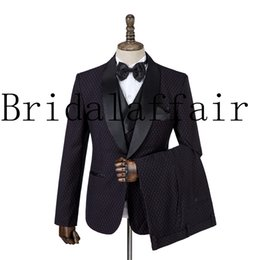 British wool clothing online shopping - British Gentle Men s Suit Sets Autumn New Formal Party Prom Wedding Dress Clothing High Quality Jacket Vest Pant XL