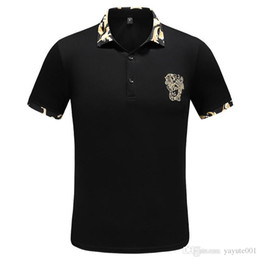 $enCountryForm.capitalKeyWord Australia - 2019 iduzi High Men Brand Polo Shirt Male Collar Slim Solid Polos England Men Cotton Top Camisa Tennis golf Polos White Black