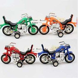 diecast motorcycles Australia - Motocross offroad riding Trail dirt ISDE Motorcycle Diecast metal model race car toy