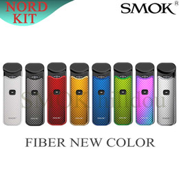 $enCountryForm.capitalKeyWord Australia - SMOK Nord Kit New Color Carbon Fiber Edition Button-Triggered Pod System Device Built-in 1100mAh Battery with 0.6ohm Mesh Coil 100% Original
