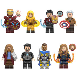 $enCountryForm.capitalKeyWord Australia - Avengers Super Hero Iron Man Tony Stark Ancient One Captain America Thor Tony Stark Valkyrie Captain Marvel Mini Toy Figure Building Block
