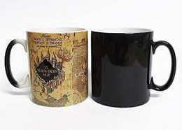 spoon mugs UK - Creative Gifts Magic Mugs Harry Hot Drink Cup Color Changing Mug Potter Marauders Map Mischief Managed Wine Tea Cup T8190627