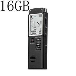 Mini Digital Audio Australia - 16GB Mini T60 Professional Voice Recording Device Time Display Large Screen Digital Voice Audio Recorder Dictaphone MP3 Player