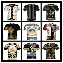 4e726d4d42a 3D patrón étnico vintage hombres y mujeres pareja camiseta ropa de mujer  impresión camiseta de verano de manga corta casual para hombres