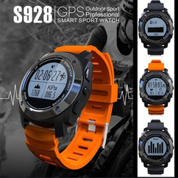 Water Resistant Gps Australia - FANTEMO Smart Watch Sport G-sensor GPS Outdoor Heart Rate Monitor Smart Wristband for Android IOS Smart Phone