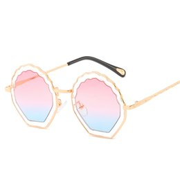 c8a269a92 Round Sunglasses Women Brand Designer Flower Metal Frame UV400 Sun Glasses  Retro Vintage Sunglass Female Shades Eyewear