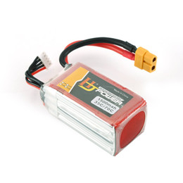helicopter boxed UK - HJ 14.8V 1500MAH 35C 4S Lipo Battery XT60 Plug Rechargeable for RC Racing Drone Helicopter Car Boat Model