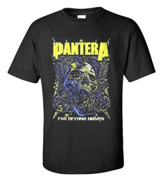 Pantera Uzak Ötesinde Driven Hard Rock Ağır Metal Punk Band erkek T-shirt Unisex