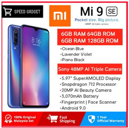 "Water Proof Mobile India Australia - Xiaomi Mi 9 SE 6GB 128GB Xiaomi Mi9 SE Mobile Phone Snapdragon 712 Octa Core 5.97"" 48MP Triple Camera"