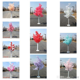 $enCountryForm.capitalKeyWord Australia - New Arrival Cherry Blossoms Tree Road Leads Wedding Runner Aisle Column Shopping Malls Opened Door Decoration Stands