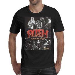 $enCountryForm.capitalKeyWord Australia - Men design printing Rush band black t shirt design personalised cool crazy champion shirts printed t shirt cute family striped classic