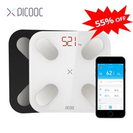 Discount smart scales PICOOC mi ni floor scales Digital body weight Scales Measuring 13 data such as BMI Smart Weighing Scales with APP 150KG