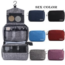 cosmetic bag hook Australia - New Waterproof Makeup Cosmetic Bag Toiletry Wash Case Travel Organizer Storage Mesh Pouch Variety of Pockets with Hanging Hook