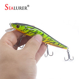 $enCountryForm.capitalKeyWord NZ - SEALURER 1pcs Boxed 12cm 13.5g Fishing Lure Float Minnow Wobbler Printed Lure Hard Bait SEALURER 1pcs Boxed Minnow Bait 12cm
