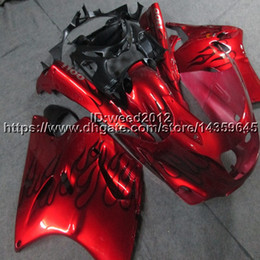 1991 Zx11 UK - Screws+Free gifts red motorcycle cowl for Kawasaki ZX11 ZX11R 1990 1991 1992 ABS Plastic Fairing