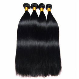 Chinese  Leila 10A Peruvian Straight Body Loose Hair Bundles 100% Human Hair Bundles Non Remy Hair Weave Extensions Natural Color Can Buy 1 4 pcs manufacturers