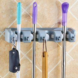 $enCountryForm.capitalKeyWord Australia - Kitchen Organizer Mop Holder 5 4 3 Position Brush Broom Hanger Storage Rack Household Mop Brush Hanger Kitchen