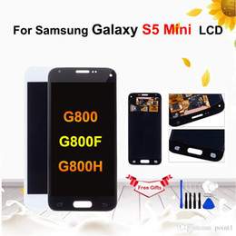 Samsung S5 Mini Touch Screen Australia - Super AMOLED LCD For Samsung Galaxy S5 Mini G800 G800F G800H LCD Display Touch Screen Digitizer Assembly Replacement with tools