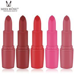 $enCountryForm.capitalKeyWord Australia - Factory Price Lipstick 25 Single Color Hot Cheap Original MISSROSE Matte Lipstick For Beauty Colors Lip Gloss Makeup Cosmetics Free Shipping