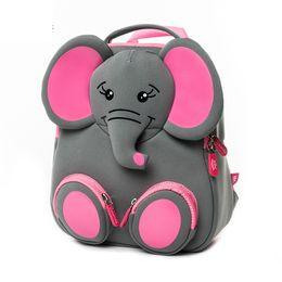 Backpacks For Kindergarten Australia - Cocomilo Brand 3d Cartoon Cute Elephant Bear Schoolbag Kindergarten Children Animal Backpack Gift Kids School Bags For Girls Boy