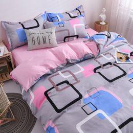 Wholesale dark green sheets online – oversize New European Style Elegant Royal Bed Blue Comforter Cover Set Bedding Duvet Cover Sheet Four Piece Set
