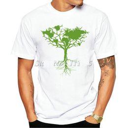 $enCountryForm.capitalKeyWord Australia - World t shirt The earth tree short sleeve tees Globe style gown Fadeless print clothing Pure color colorfast modal Tshirt