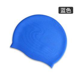 Venta al por mayor de adultos moda de alta calidad unisex gorro de natación de silicona tapa de la orejera de silicona resistente al agua gorro de natación de silicona orejera