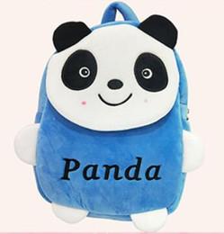 Christmas Panda Cartoon NZ - Joyloading Cartoon 3D Fashion Panda Design Kids Backpack Students Preppy Schoolbag Children Pack