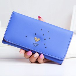 $enCountryForm.capitalKeyWord Australia - Fashion Women Wallets Heart Pattern Casual Lady Purses Long Coin Purse Cards ID Hold Handbags Moneybags Female Girls Wallet Bags