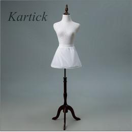 $enCountryForm.capitalKeyWord Australia - Brand New Petticoats with Ruffles Little Girls Kids Crinoline White 1 Hoop Short Children Underskirt for Flower Girl