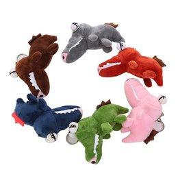 hot dog plush toy Canada - Plush Keychains 2020 Hot sale Backpack Accessories Cute Plush Toys Scrocodile Soft Stuffed Animals Dolls Gift 6 colors j109