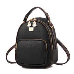Pu bags manufacturers online shopping - 2019 new handbags manufacturers bags multi function shoulder portable diagonal shoulder bag ladies backpack4