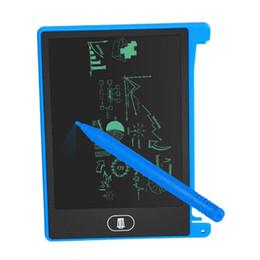 4.5 pulgadas LCD Escritura Tablt Tablero de dibujo Pizarra Cojines de escritura a mano Regalo para niños Bloc de notas de notas sin papel Memo en venta