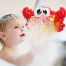 $enCountryForm.capitalKeyWord NZ - Blowing Bubbles Machine Toy For Kids Soap Bubble Baby Cartoon Toys Outdoor Big Crab Bubble Maker Children New Year Gifts
