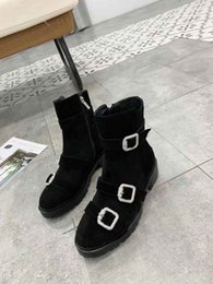 $enCountryForm.capitalKeyWord Australia - 2019 Brand Fashion Luxury Designer Women Shoes Mid boots Superstar New Retros Thick Heel Boots Luxury Womens Shoes High Quality