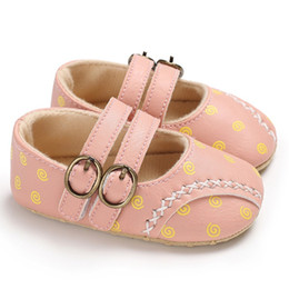 Discount moccasins for baby girls - Baby Boys Girls Shoes PU Leather Soft Sole Non-Slip Prewalker Toddler Shoes Moccasin For Spring Fall Pink 12cm