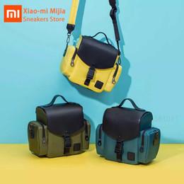 $enCountryForm.capitalKeyWord Australia - Xiaomi Mijia original urevo light travel micro single camera bag IPX4 comfortable waterproof detachable shoulder strap bag