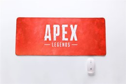 Ingrosso Apex Legends mouse pad 700 * 300 * 3mm tastiera mousepad modello di massa notebook gamer accessori padmouse giocattolo mat regalo