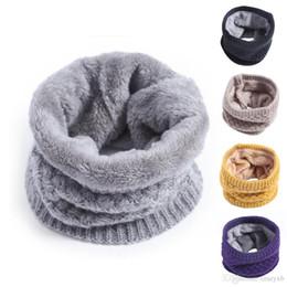 Velvet Scarves Wholesale Australia - Hot New Fashion Winter Scarf Ladies Scarves Warm Thick Velvet Boys And Girls Cotton Scarf Man And Women Comfortbale Scarves