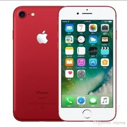 multi iphone NZ - Original apple iPhone 7 Plus 4G LTE Quad core 5.5inch 12MP 3G RAM 32G 128G 256G ROM Fingerprint Unlocked refurbished Phone with Touch ID