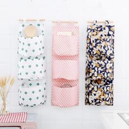 $enCountryForm.capitalKeyWord Australia - 3 Pockets Door Hanging Organiser Girls Socks Underwear Storage Basket Wall Hanging Storage Oxford Fabrics Bag 100 Pieces DHL