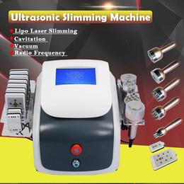 $enCountryForm.capitalKeyWord Australia - 2019 Quality 40K Ultrasonic Cavitation Vacuum Bipolar RF Face Skin Tighten Lipolaser Lipo Laser Fat Burning Weight Loss Slimming Machine