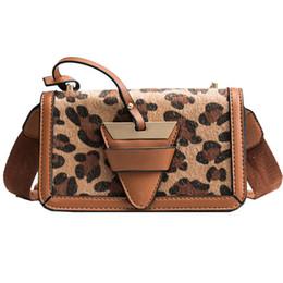 $enCountryForm.capitalKeyWord Australia - Bolsos Mujer Women Bags Plush Leopard Print Shoulder Bag High Quality Ladies Casual Messenger Crossbody Flap Bags For Women 2019