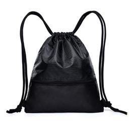 $enCountryForm.capitalKeyWord Australia - 9PCS   LOT Fashion Drawstring Bags Mulitfunctional Backpack Mini String Sack Women Men Travel Package Wholesale