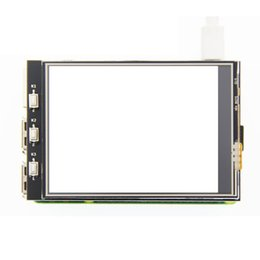tft lcd touch screen module UK - 3.2 inch MHS TFT GPIO LCD Module Screen Display with Touch Panel Support 125MHz SPI Input for Raspberry Pi