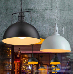 $enCountryForm.capitalKeyWord Australia - Nordic Black Industrial Pendant Light Fixture E27 Holder Loft Hanging Iron Lamp shade Home Attic Suspension Luminaire