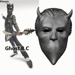 Ghosts Face Mask Australia - 2019 New!!!Ghost BC Rock Roll Band Cosplay Mask Nameless Ghoul Costume Props Helmet Adult Ghost B.C. Face Mask Fancy Dress up Cosplay
