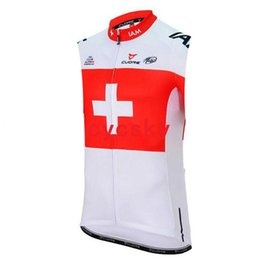 men s sleeveless cycling jersey UK - iam 2019 Cycling Sleeveless fleece Jersey Bike Wear Bicycle Clothing Men Sportswear Cycling Vest Ropa Ciclismo Hombre